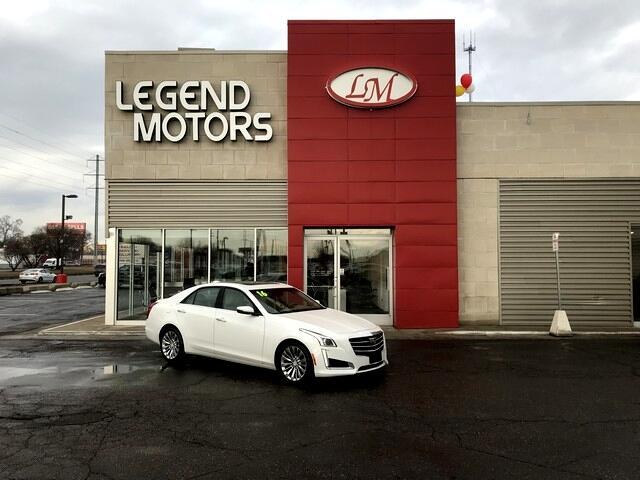 2016 Cadillac CTS 2.0L Turbo Luxury AWD