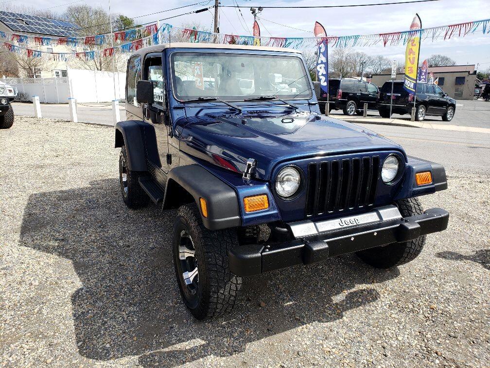 Jeep Wrangler SE 2000