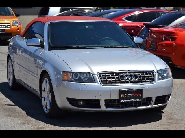 2005 Audi S4 Cabriolet