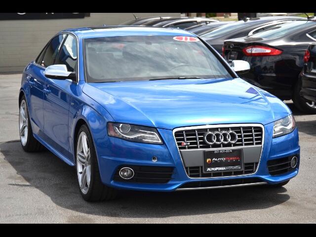 2011 Audi S4 Sedan quattro S tronic