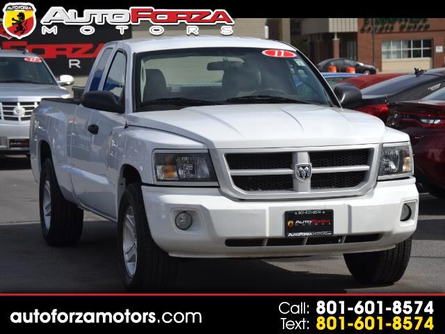 2011 Dodge Dakota SXT Extended Cab Long Horn