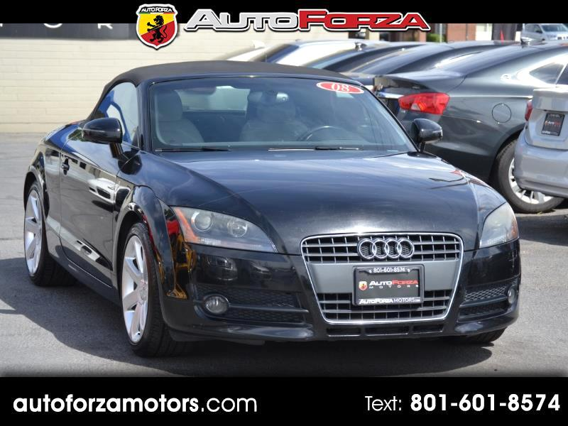 2008 Audi TT 2.0 T Roadster with S tronic