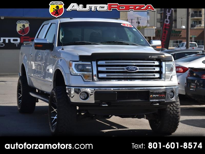 Ford F-150 Lariat SuperCrew 5.5-ft. Bed 4WD 2013