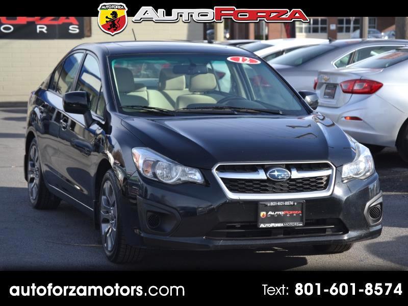 Subaru Impreza Premium Plus 4-Door+S/R 2012