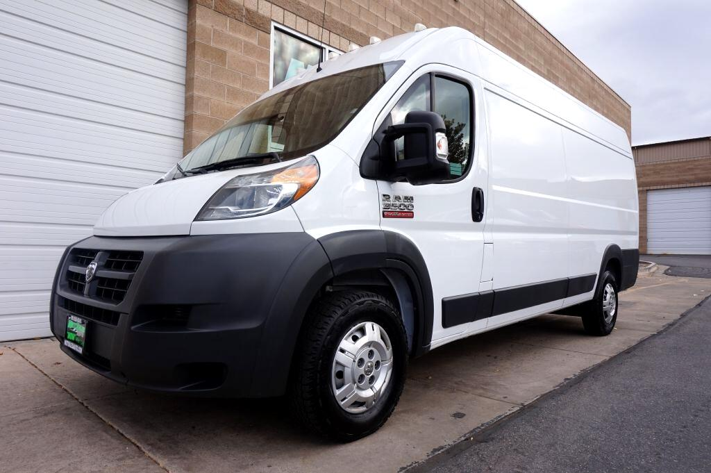 """2014 RAM ProMaster Cargo Van 3500 Extended High Roof 159"""" WB"""