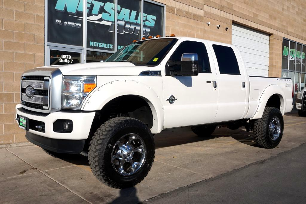 "2015 Ford Super Duty F-350 SRW 4WD Crew Cab 156"" Platinum"