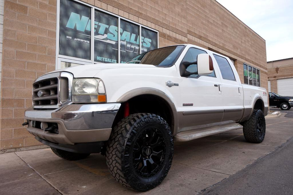 "2004 Ford Super Duty F-250 Crew Cab 156"" King Ranch 4WD"