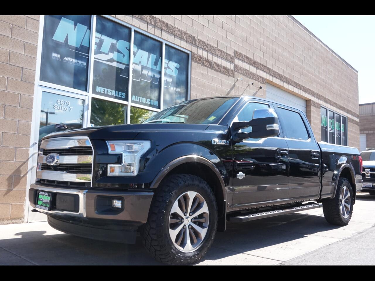 2017 Ford F-150 King Ranch 4WD SuperCrew 6.5' Box
