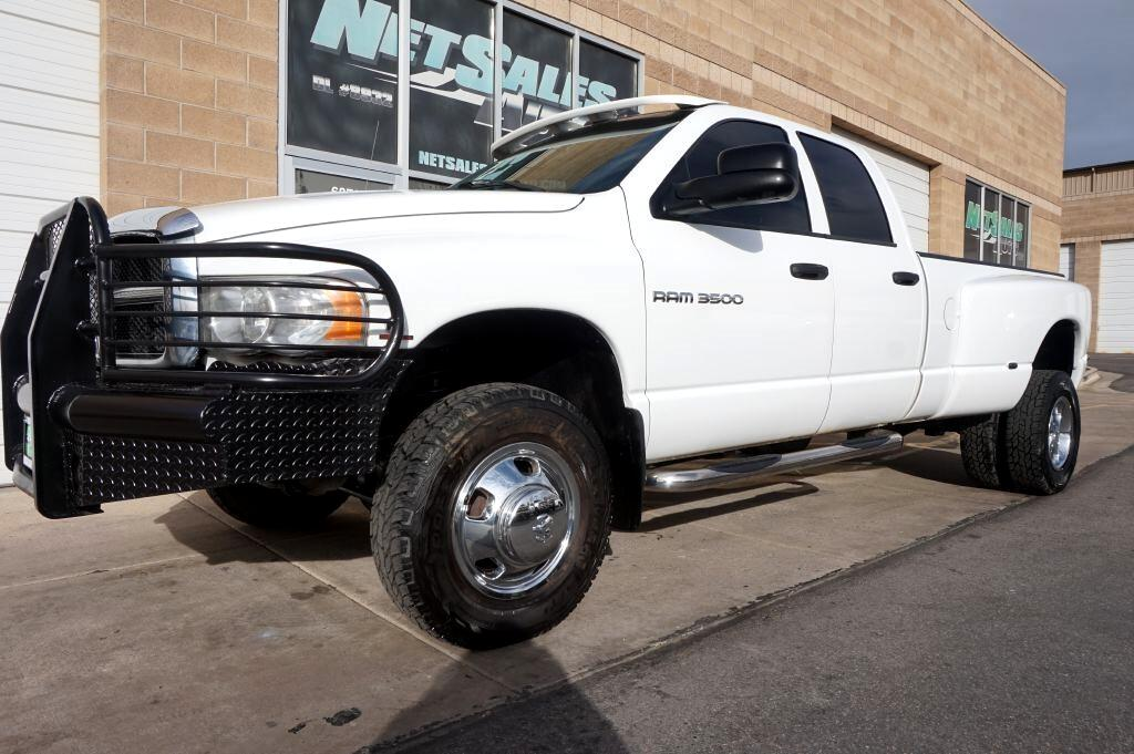 Dodge Ram 3500 ST Quad Cab Long Bed 4WD DRW 2005