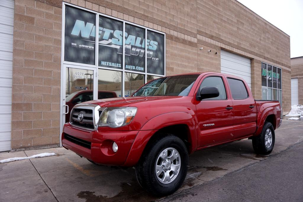 Toyota Tacoma TRD Off Road Double Cab 5' Bed V6 4x4 AT (Natl) 2010