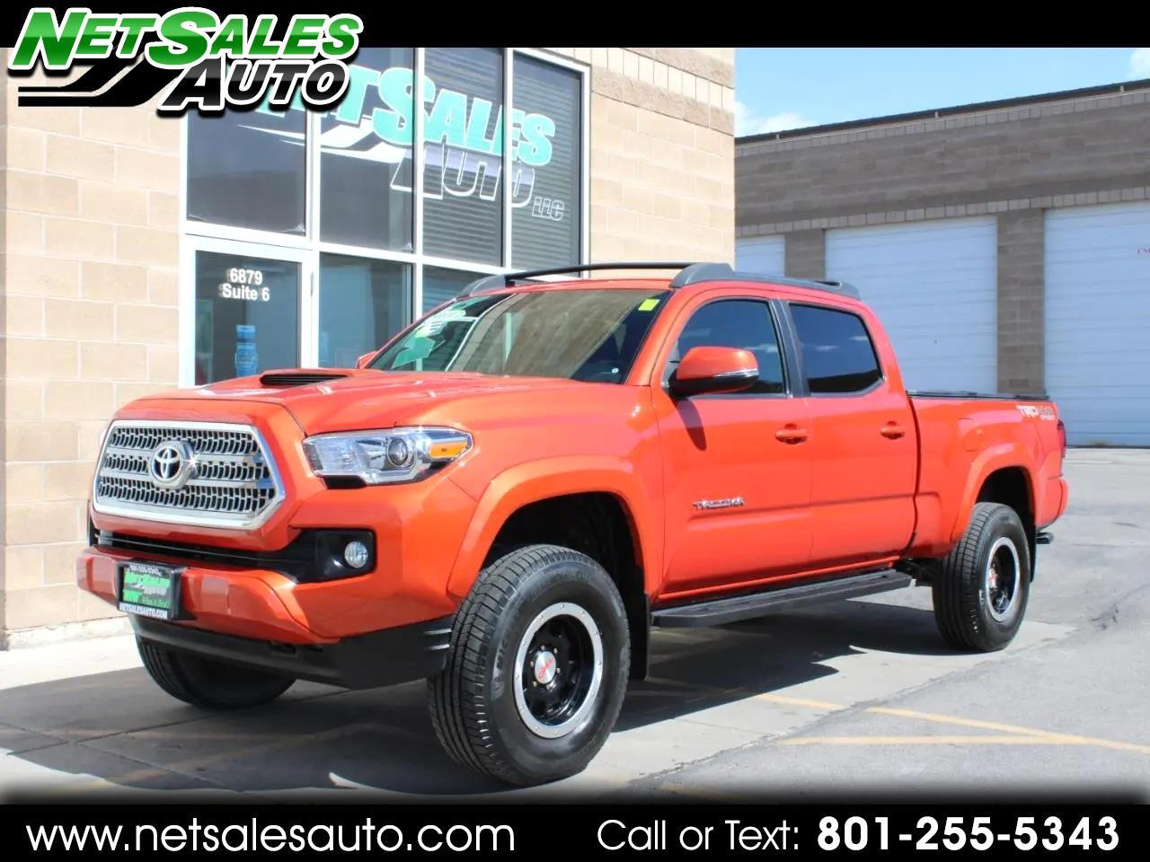 Toyota Tacoma TRD Sport Double Cab 6' Bed V6 4x4 AT (Natl) 2016