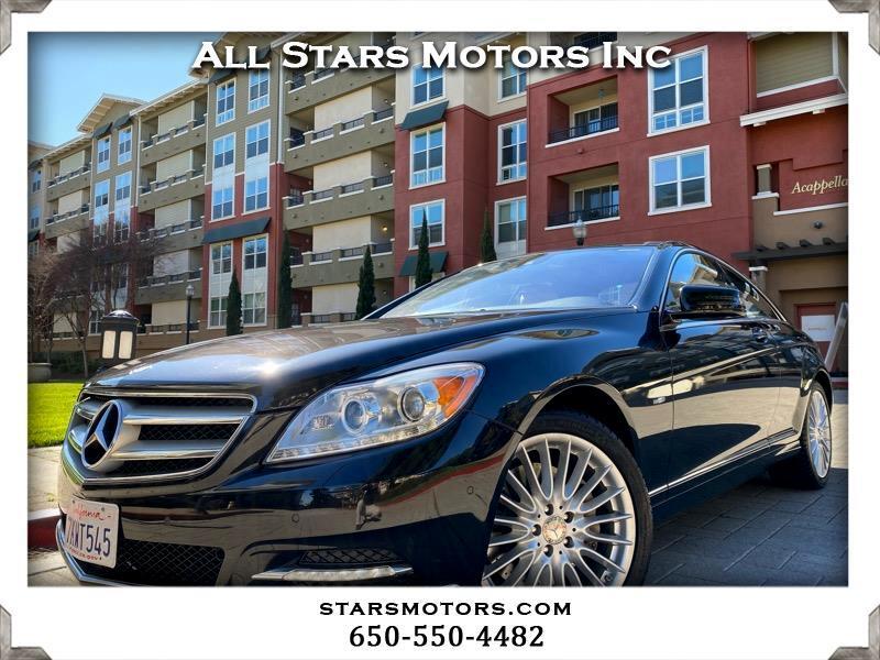 Mercedes-Benz CL-Class 2dr Cpe 5.5L V8 4MATIC 2012