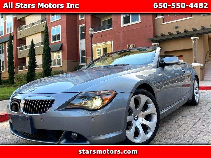 BMW 6-Series 650i Convertible 2007