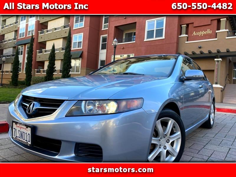 Acura TSX 6-Spd MT 2005