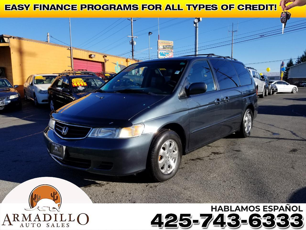 2003 Honda Odyssey EX w/ Leather and Nav System