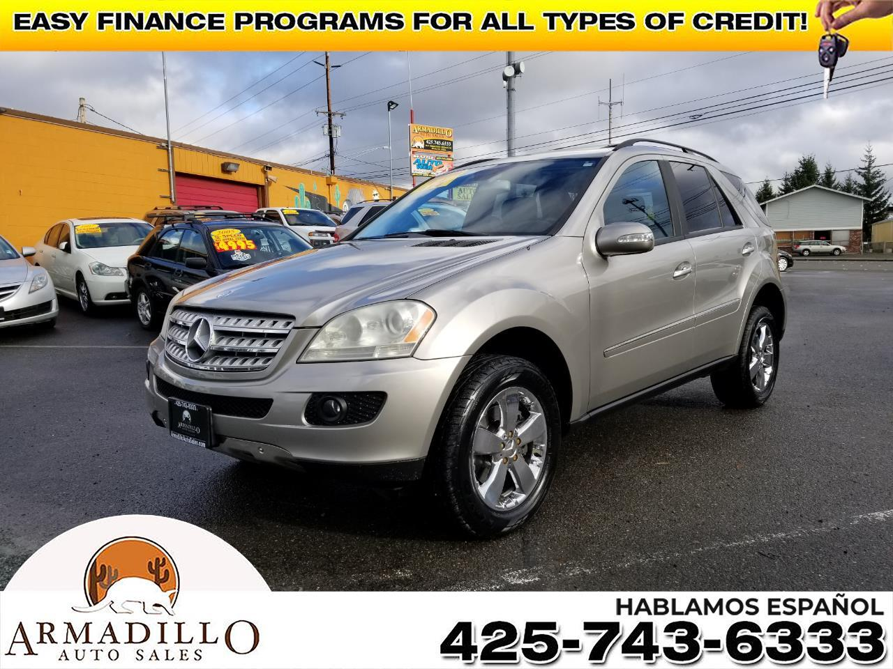 2006 Mercedes-Benz M-Class ML500 AWD