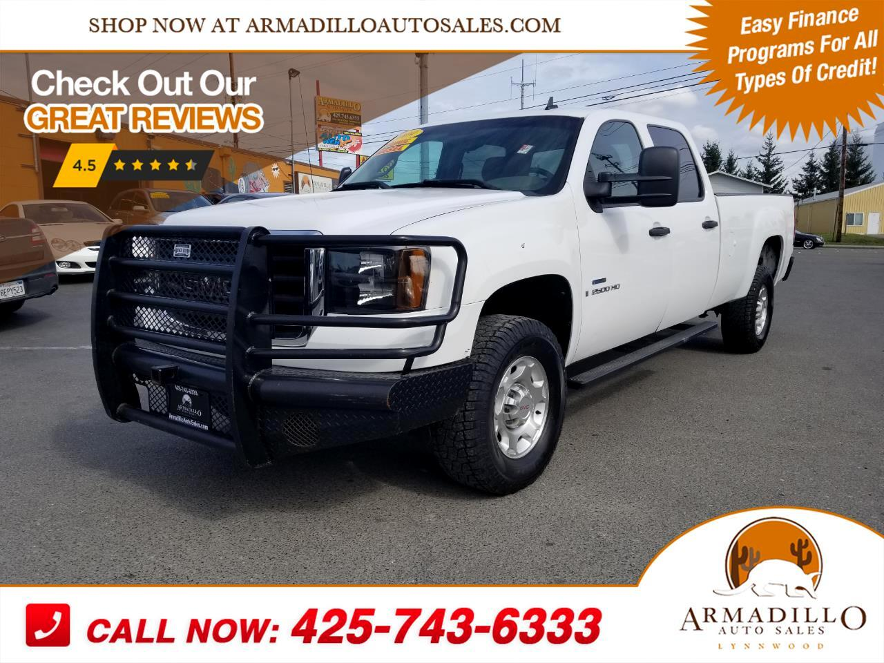 2009 GMC Sierra 2500HD Crew Cab Long Bed 2WD