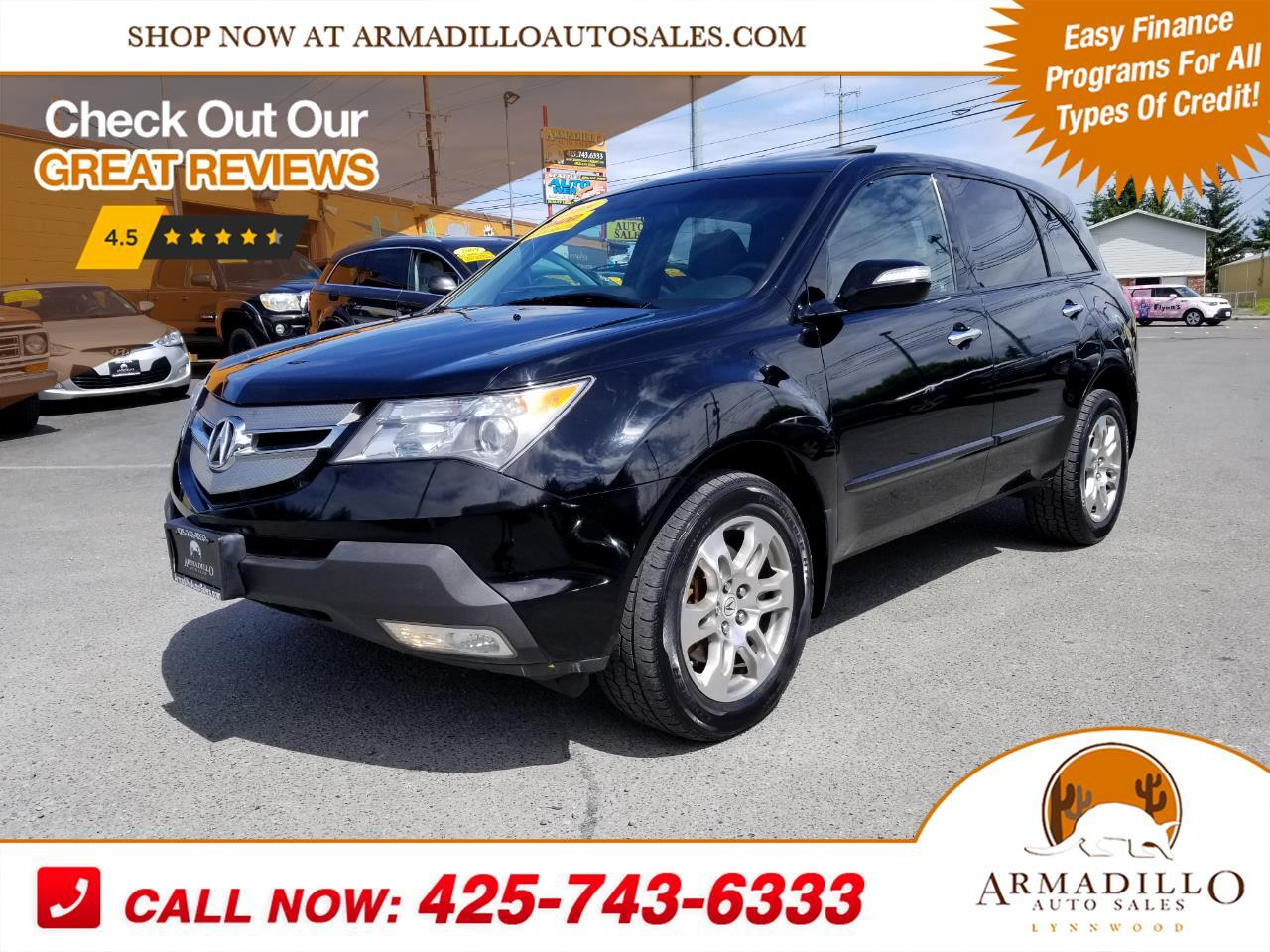 2009 Acura MDX SH-AWD w/Navigation and DVD