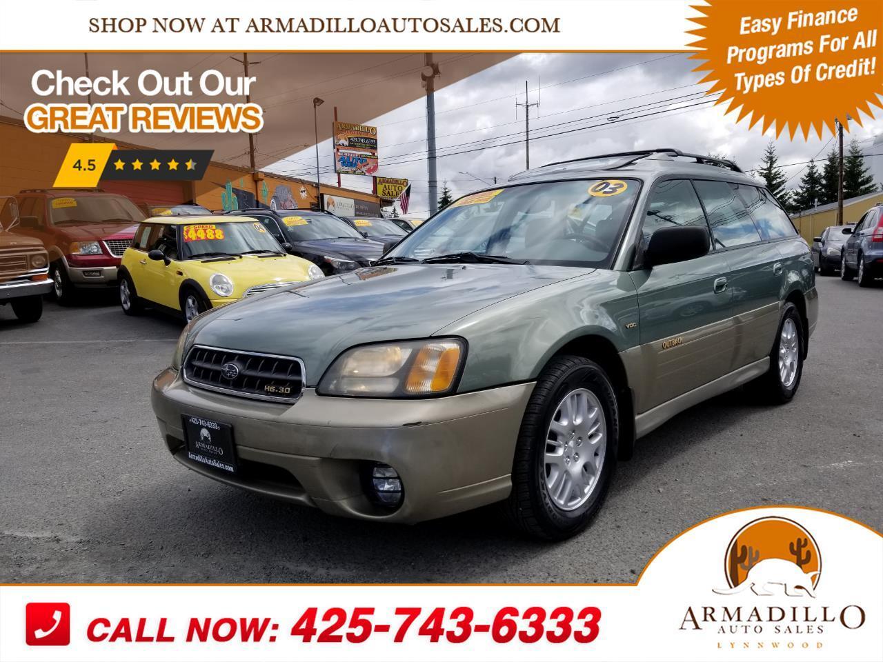 2003 Subaru Outback H6-3.0 VDC Wagon