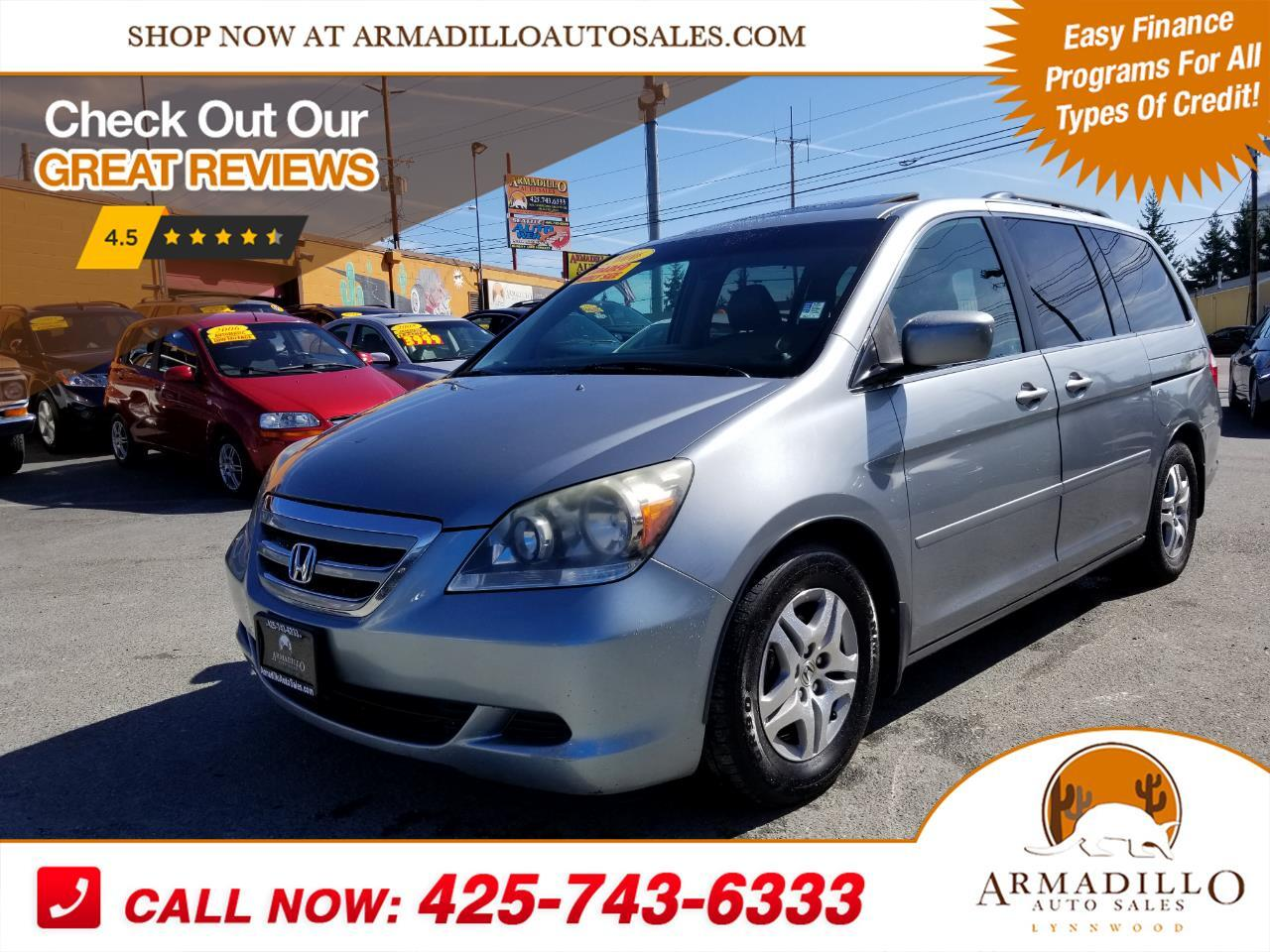 2006 Honda Odyssey EX w/ Leather DVD and Navigation