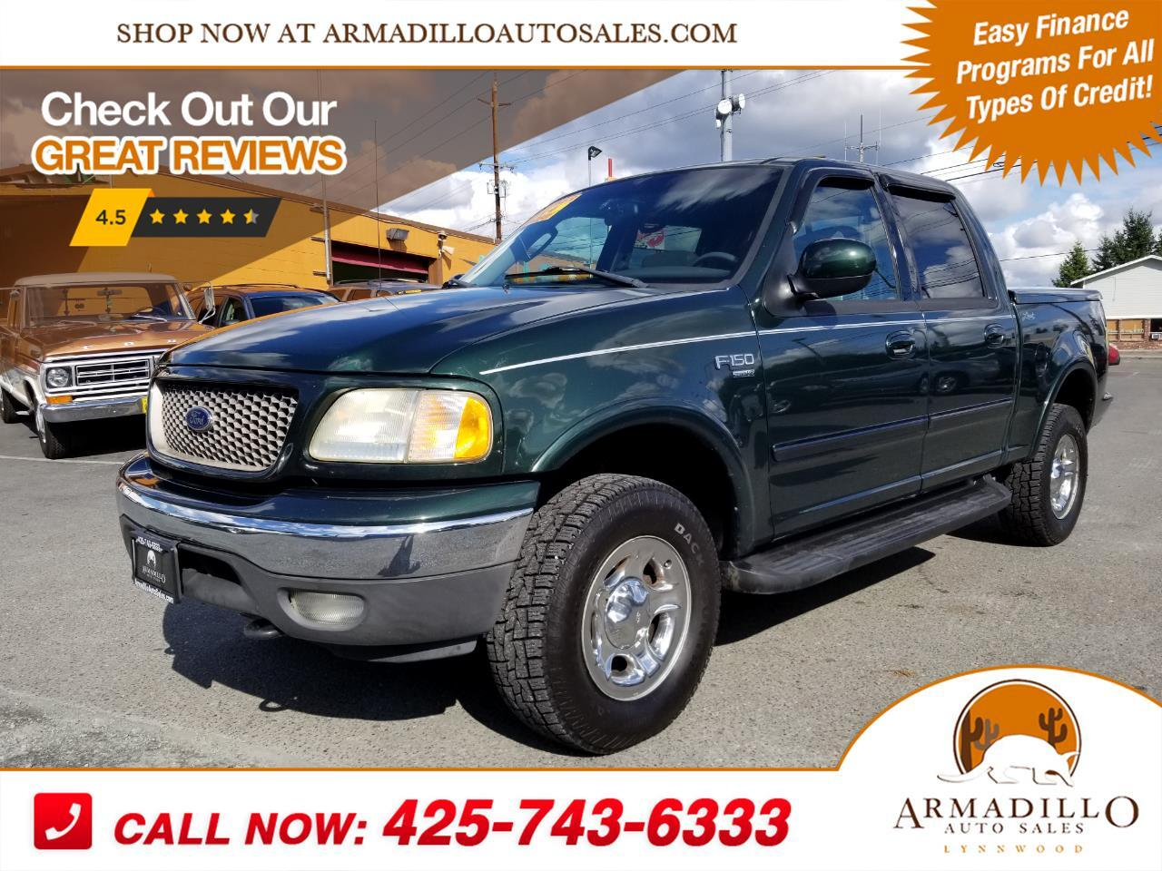 2002 Ford F-150 Lariat SuperCrew 4WD