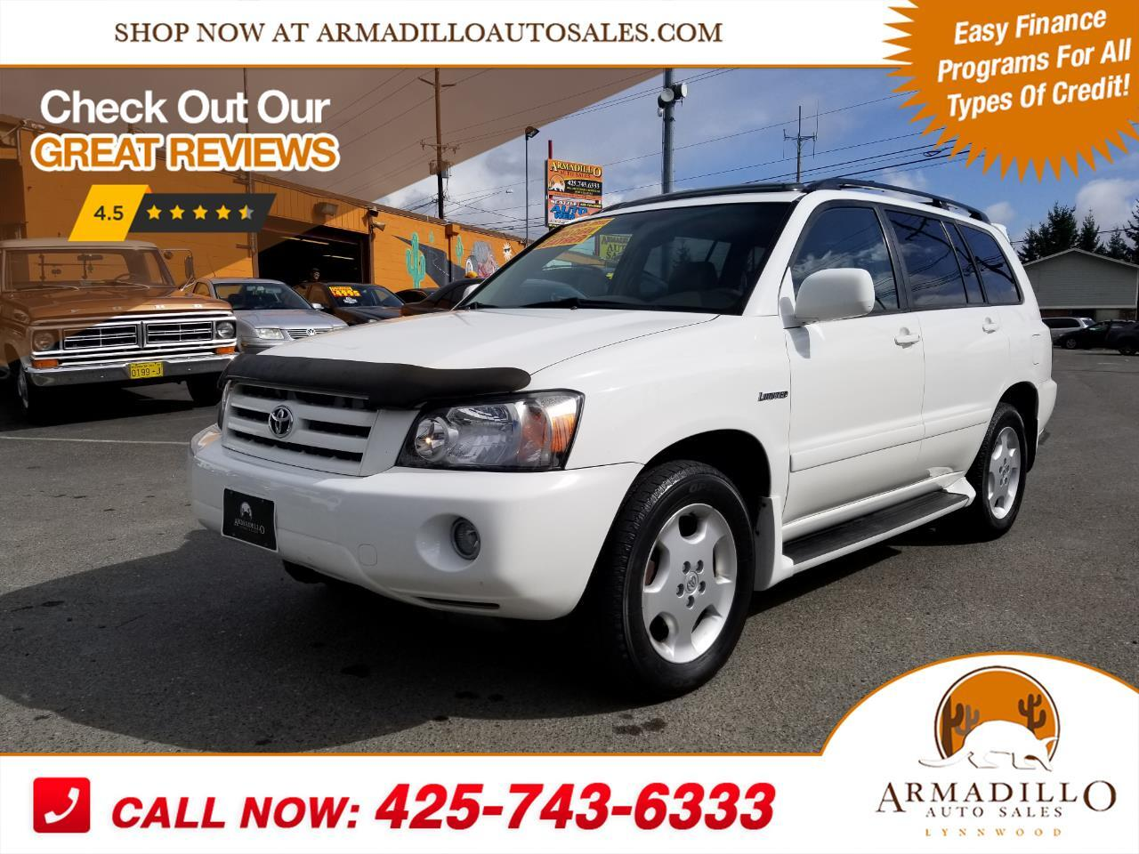 2005 Toyota Highlander Limited 4WD