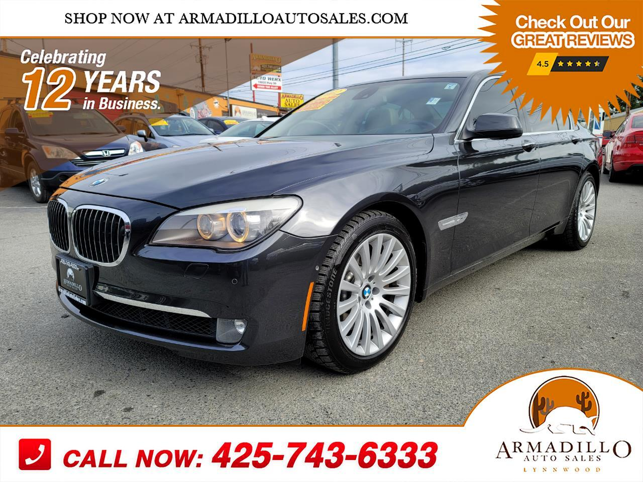BMW 7-Series 750i xDrive Sedan 2012
