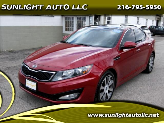 2012 Kia Optima 4dr Sdn SXL Turbo