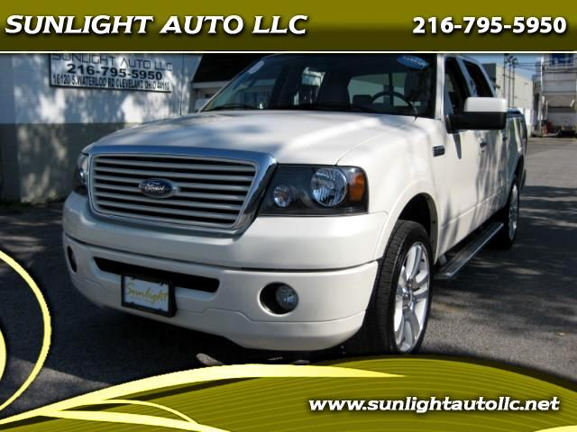 """2008 Ford F-150 AWD SuperCrew 139"""" Limited"""