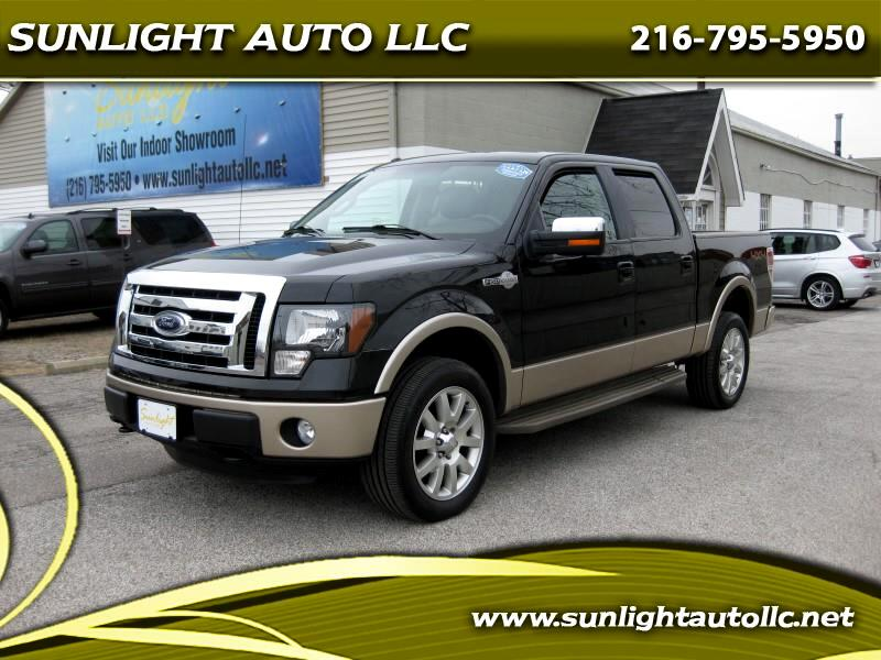 2012 Ford F-150 King-Ranch SuperCrew 5.5-ft. 4WD