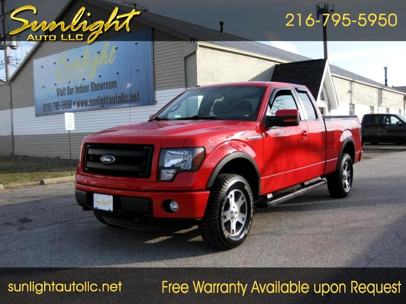 Ford F-150 FX4 SuperCab 6.5-ft. Bed 4WD 2013