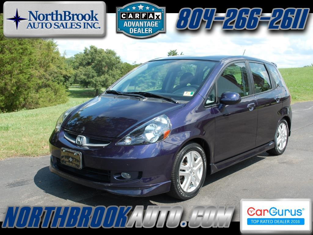 2008 Honda Fit 5dr HB Man Sport
