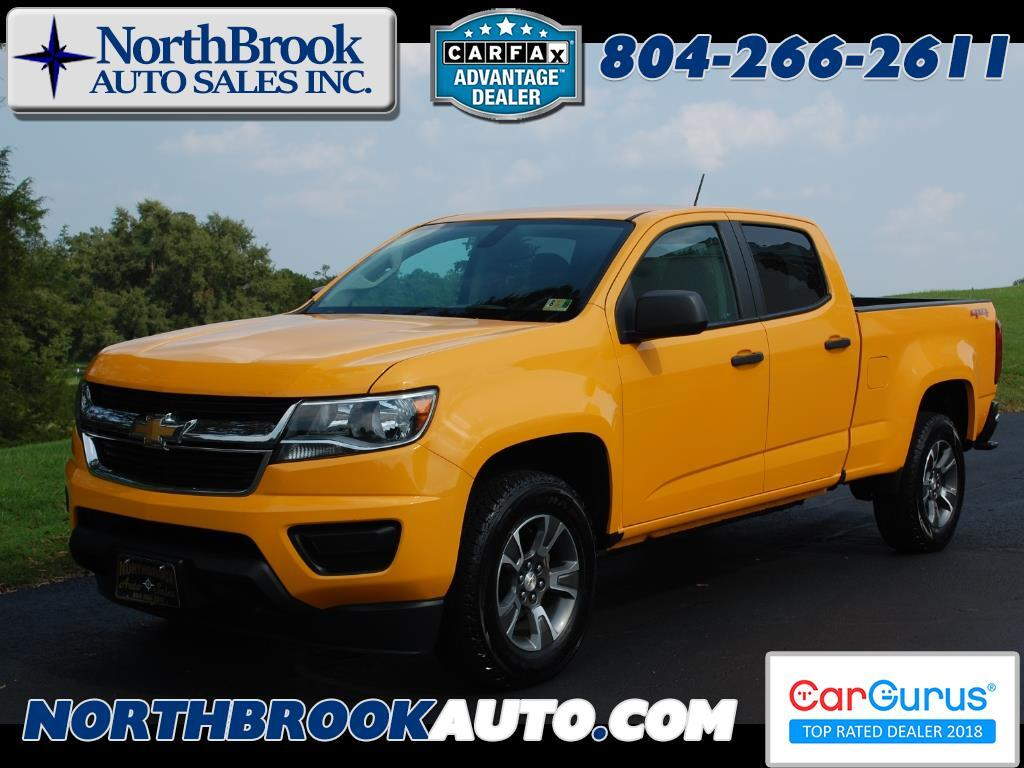 2016 Chevrolet Colorado 4WD Crew Cab 140.5