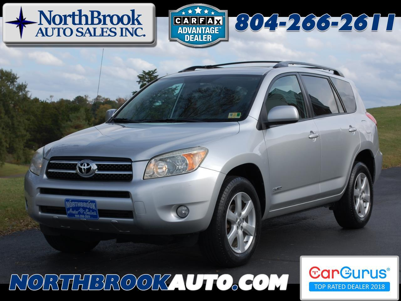 2007 Toyota RAV4 4WD 4dr 4-cyl Limited (Natl)