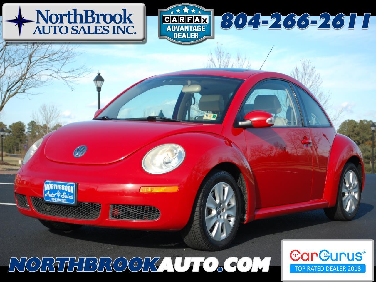 2010 Volkswagen New Beetle Coupe 2dr Auto PZEV