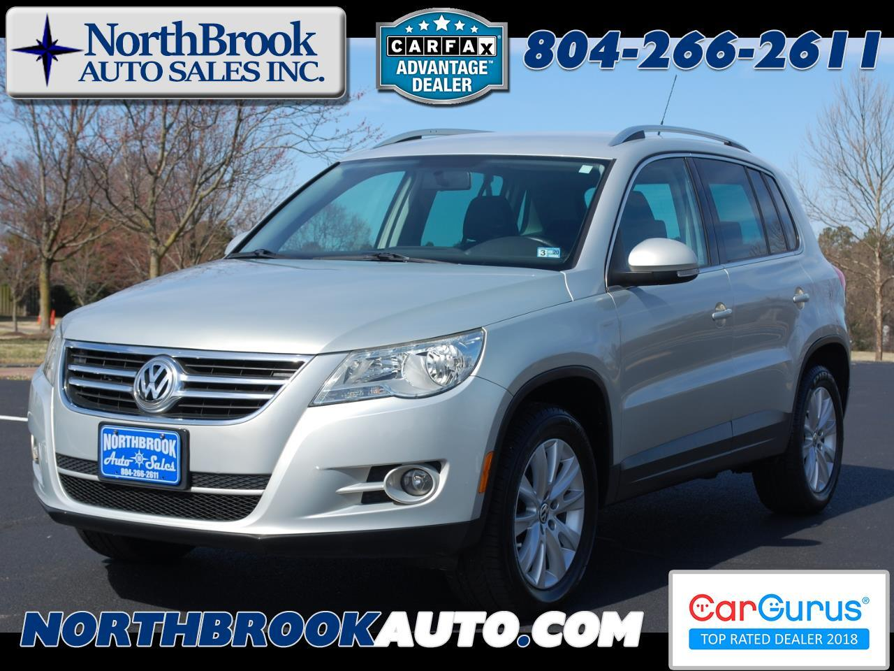 2010 Volkswagen Tiguan FWD 4dr SE w/Leather *Ltd Avail*
