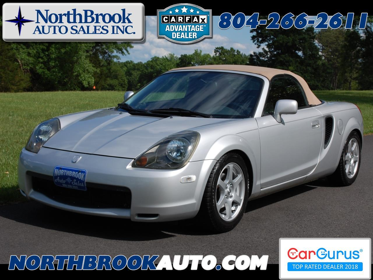 2001 Toyota MR2 Spyder 2dr Conv Manual (Natl)
