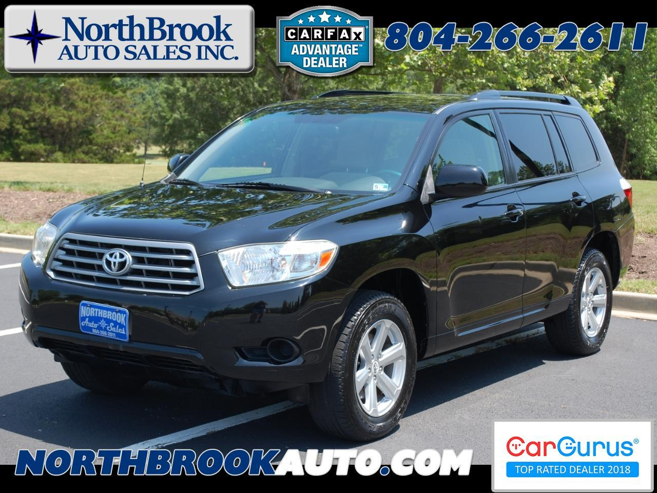 2010 Toyota Highlander 4WD 4dr V6  Base (Natl)