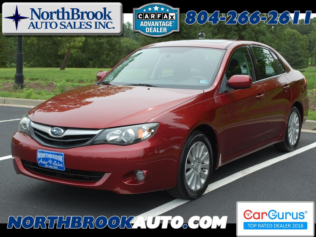2011 Subaru Impreza Sedan 4dr Auto 2.5i Premium w/Pwr Moonroof Value Pkg