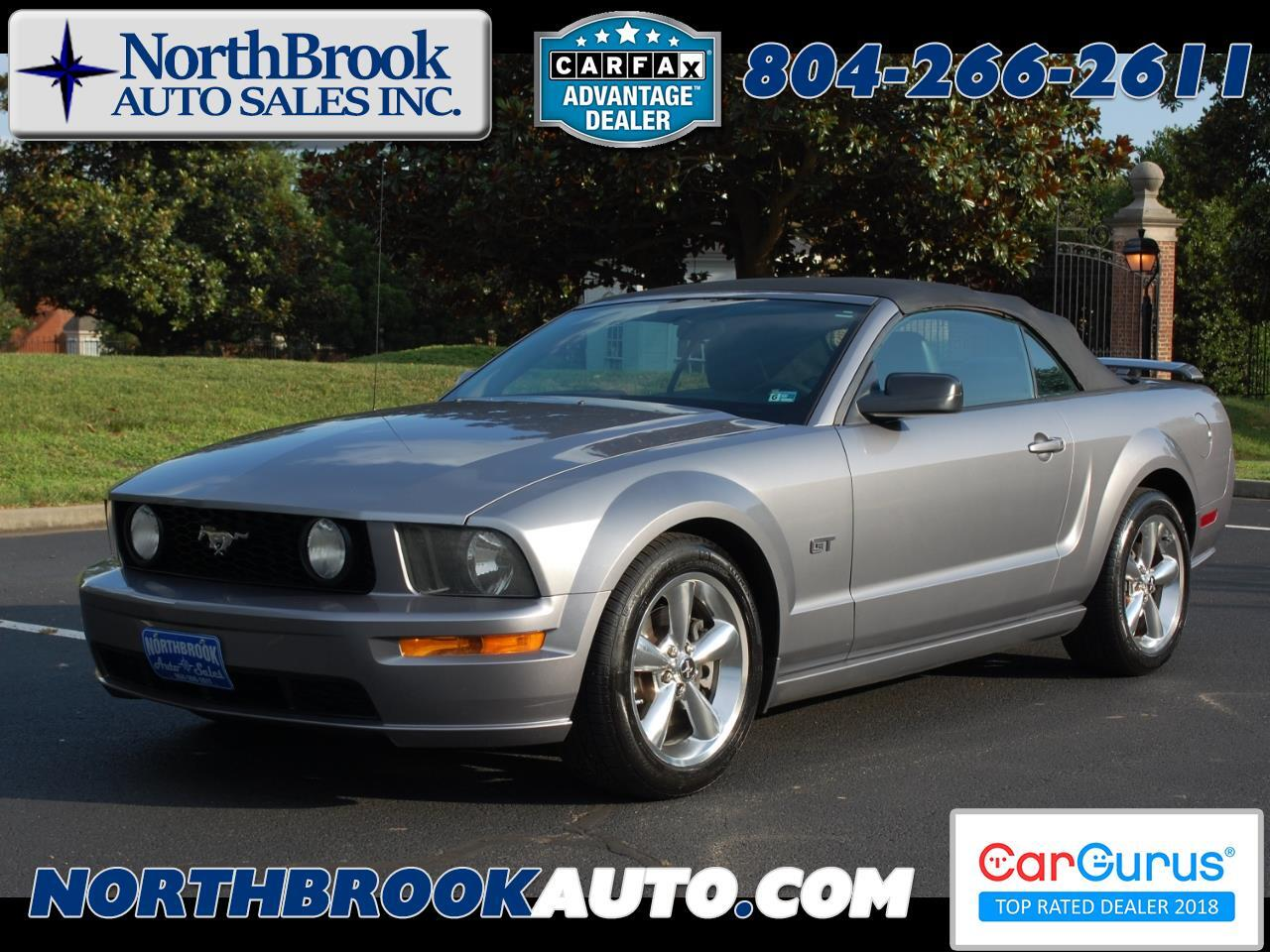 2006 Ford Mustang 2dr Conv GT Deluxe