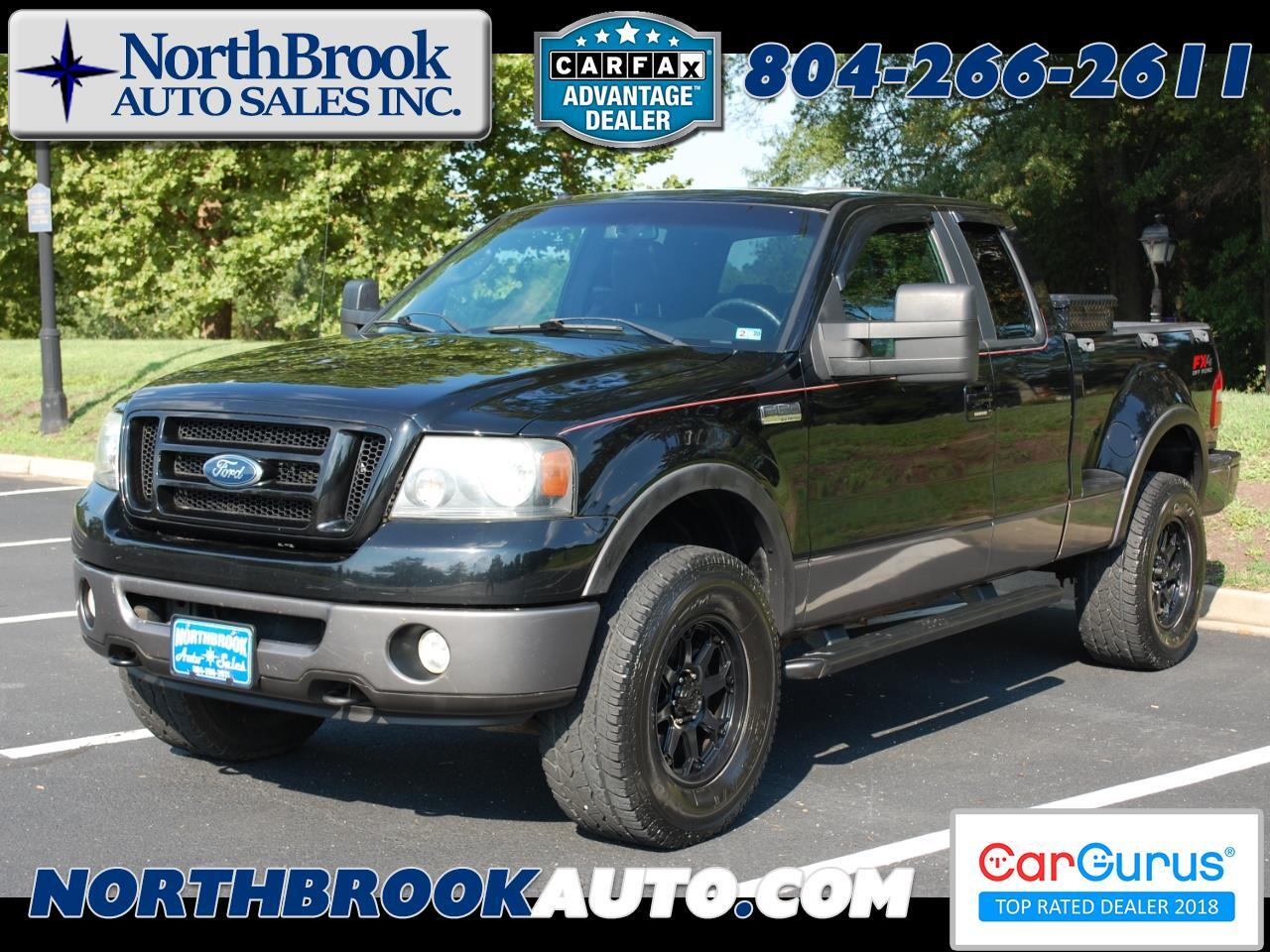 "2007 Ford F-150 4WD Supercab Flareside 145"" FX4"