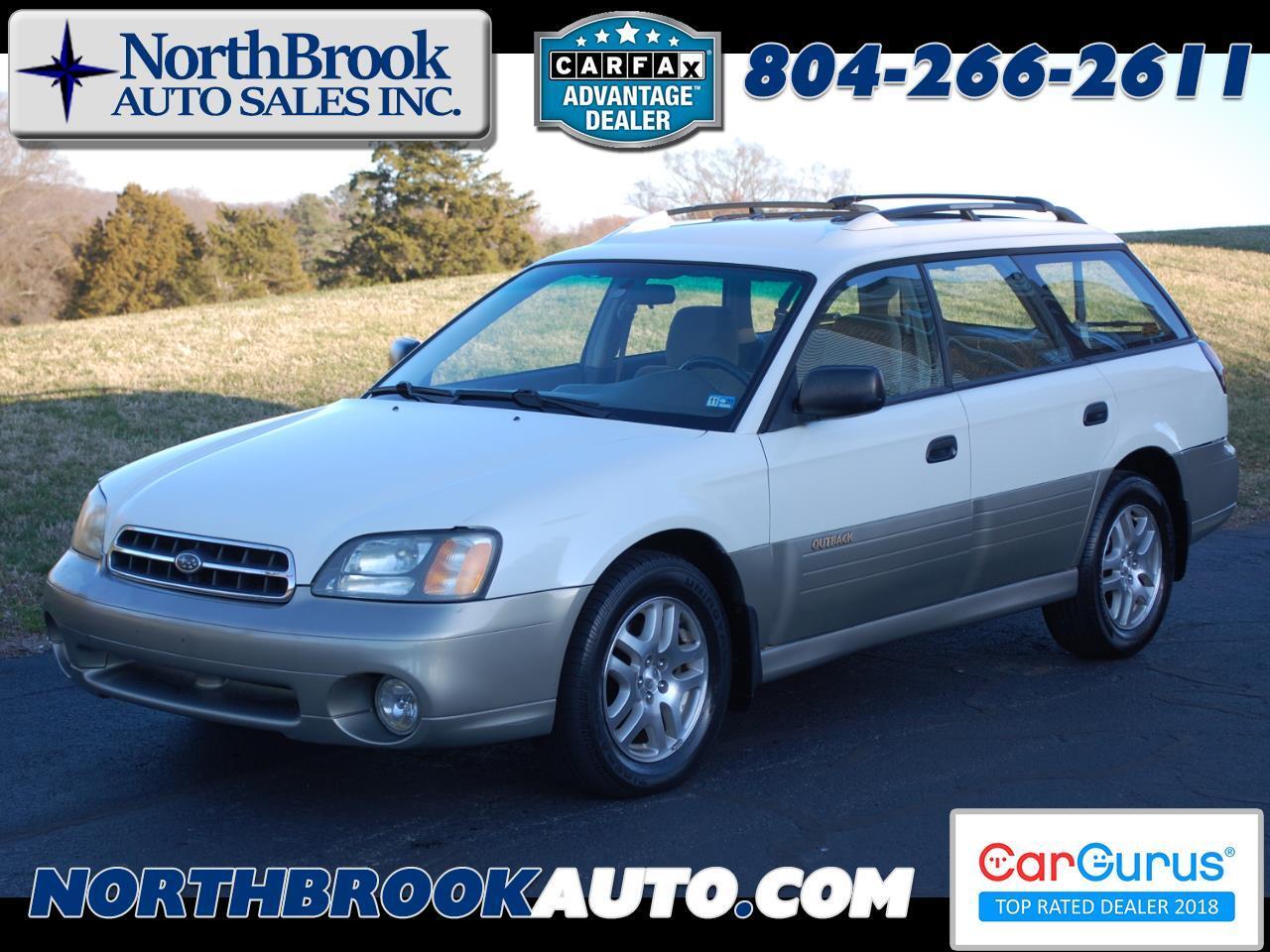 Subaru Legacy Wagon 5dr Outback Auto 2002