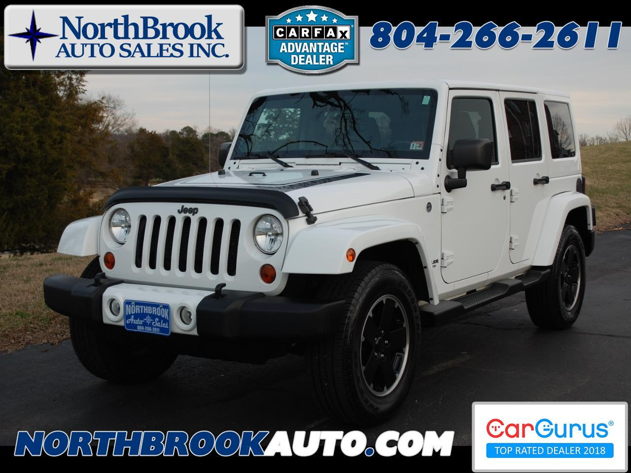 Jeep Wrangler Unlimited 4WD 4dr Altitude 2012
