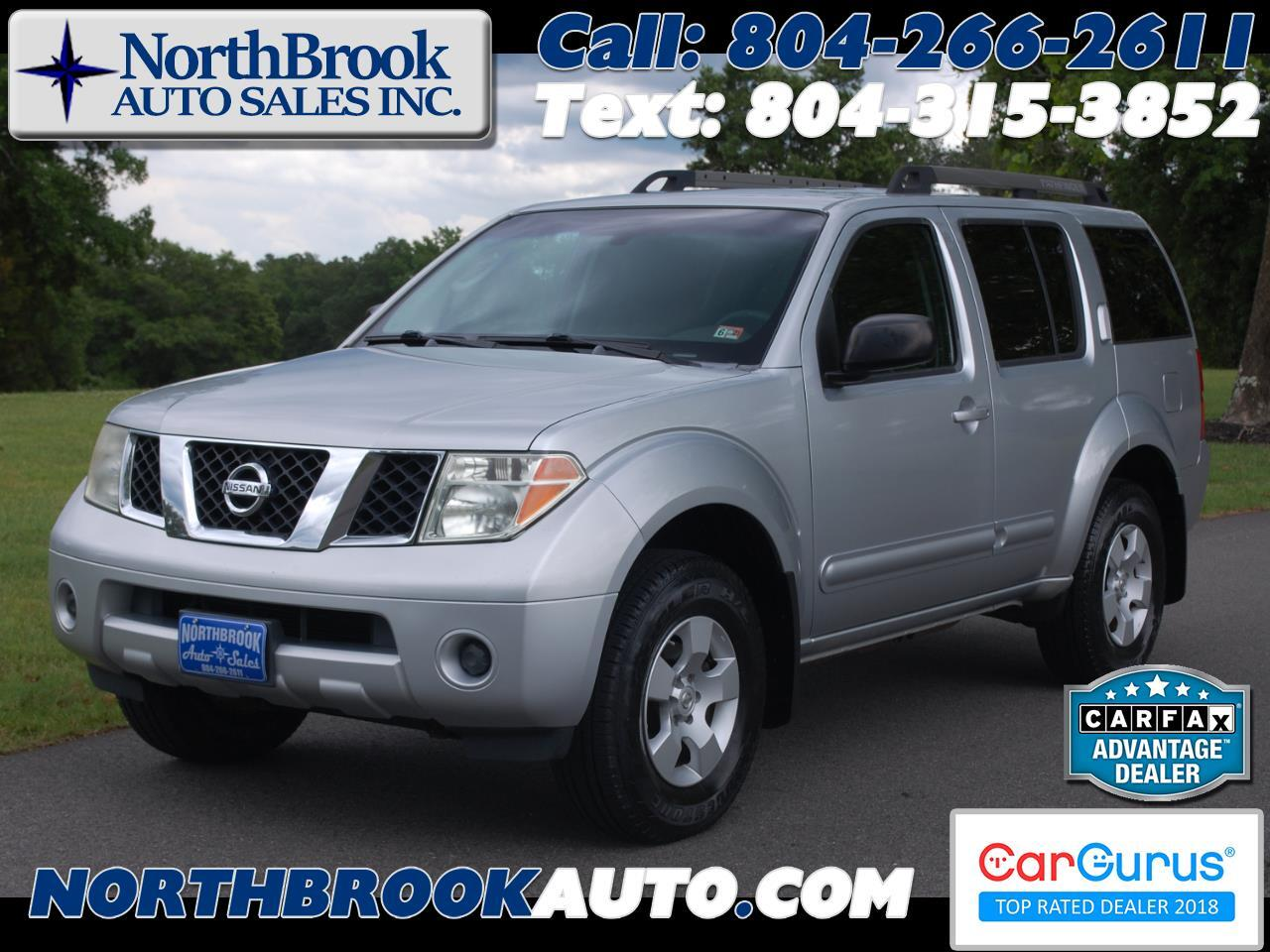 Nissan Pathfinder XE 4WD 2005