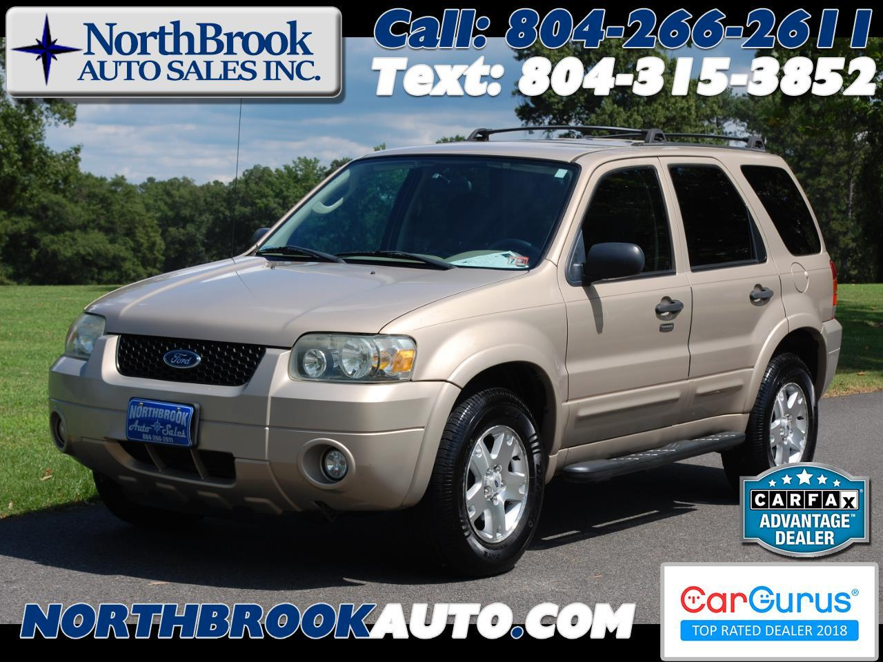 Ford Escape 4WD 4dr V6 Auto XLT 2007