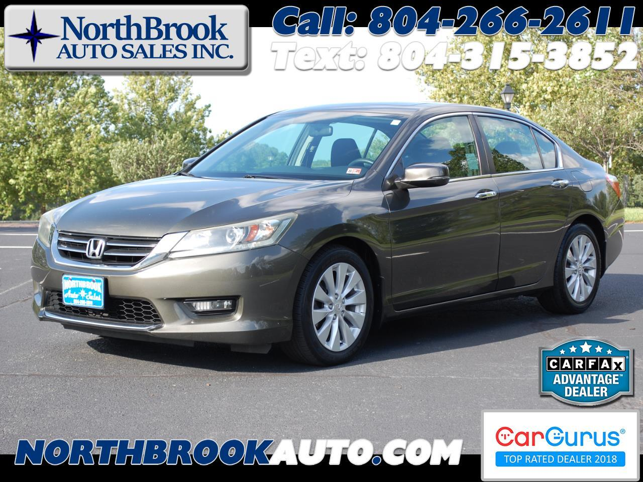 Honda Accord Sedan 4dr I4 CVT EX 2014