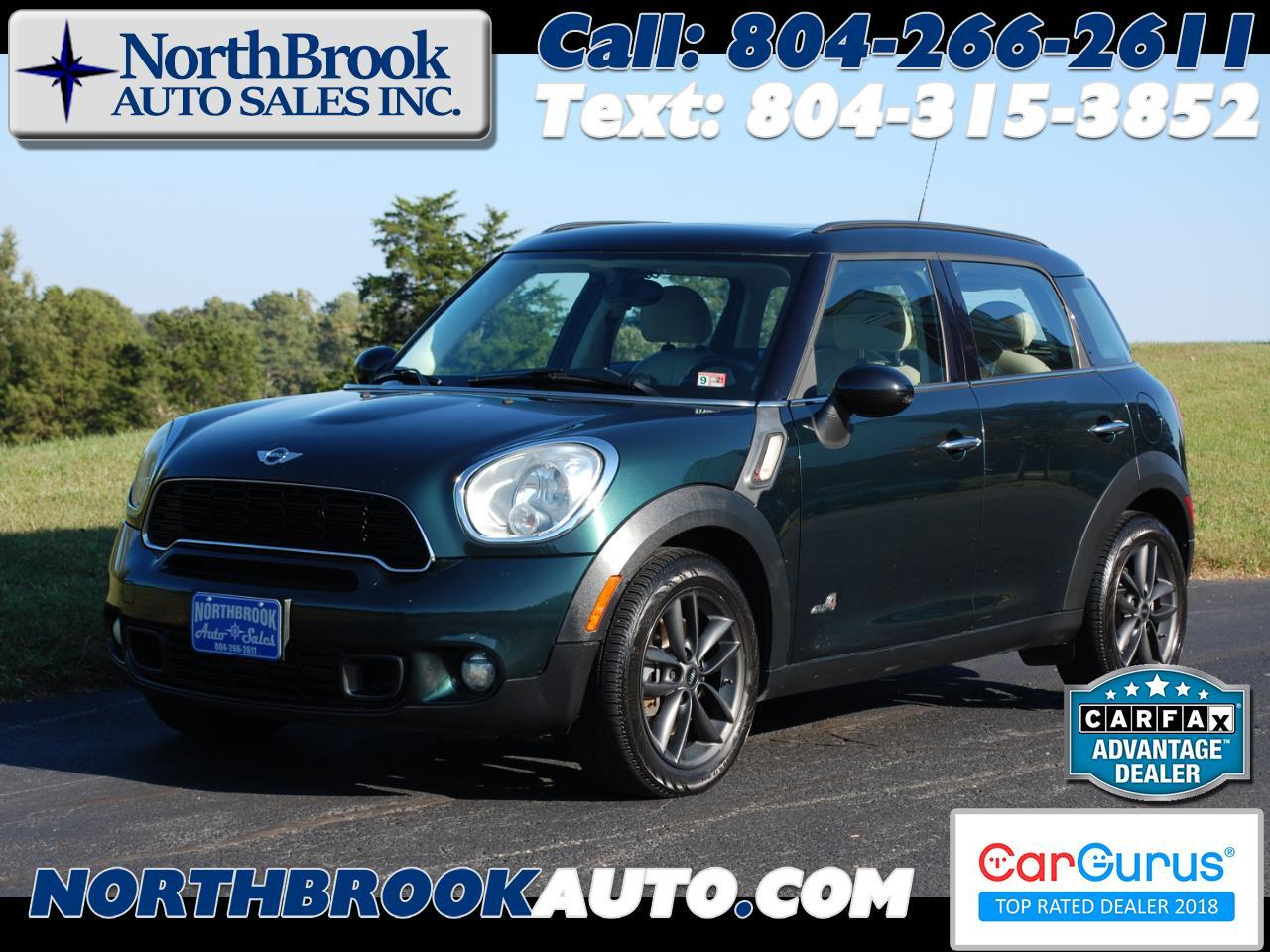MINI Cooper Countryman AWD 4dr S ALL4 2012
