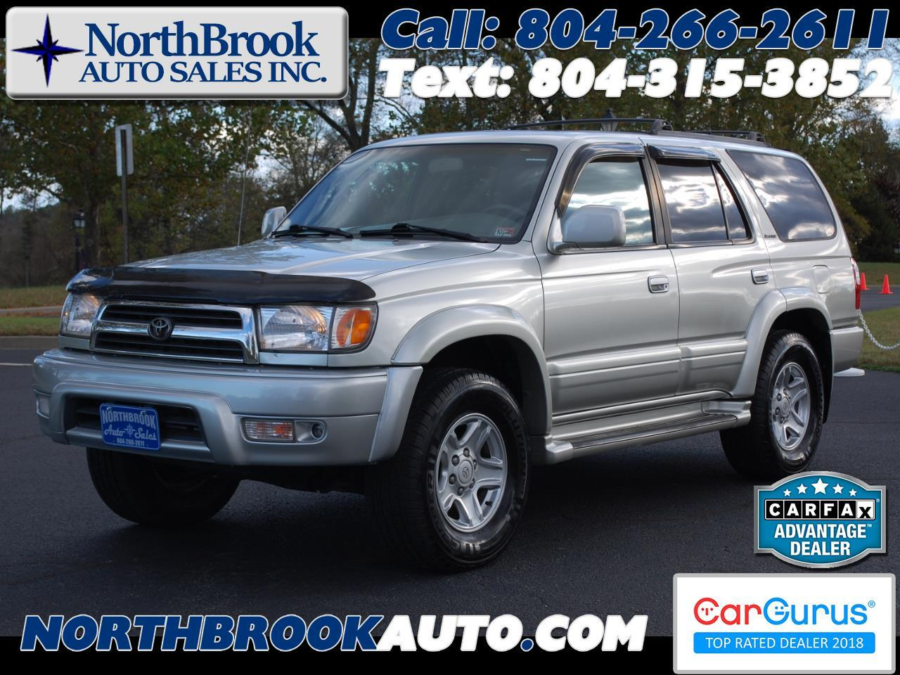 Toyota 4Runner 4dr Limited 3.4L Auto 4WD 2000