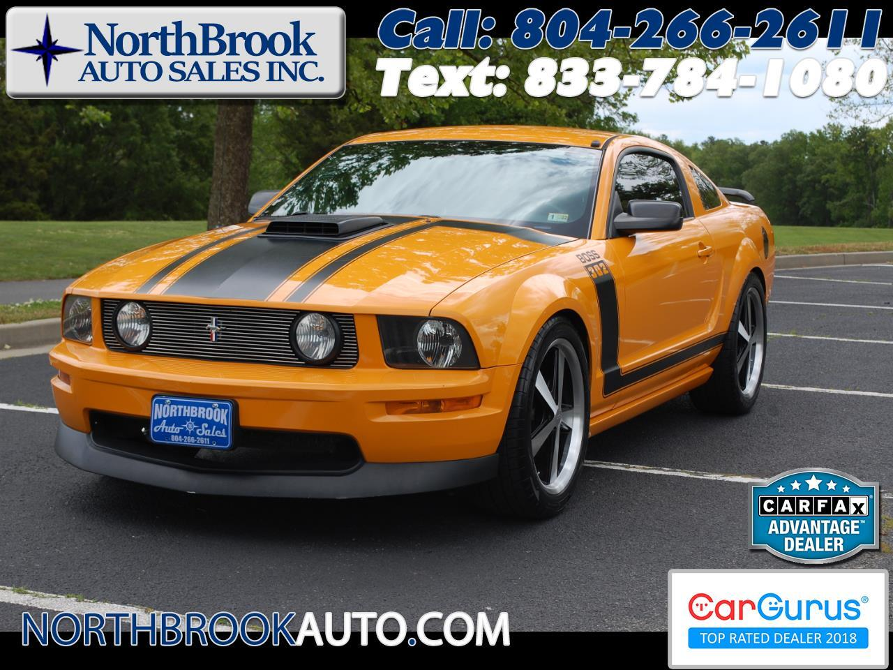 Ford Mustang 2dr Cpe Boss 302 2007