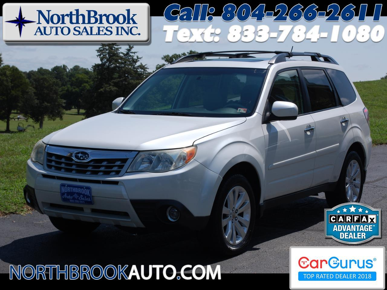Subaru Forester 4dr Auto 2.5X Limited w/Navigation System 2011